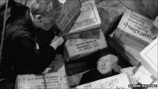 Scene from Whisky Galore. Image supplied by Screen Machine