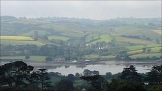 Coombe Cellars on the River Teign. Pic: Matt Neale