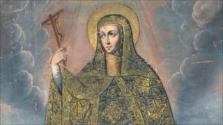 Saint Rose of Viterbo (picture supplied by Art Loss Register)
