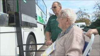 Kent and Sussex Hospital patient transfer