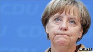 Angela Merkel in Berlin. 19 Sept 2011