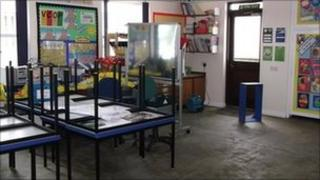 Classroom at Bishop Bronscombe Primary School in St Austell