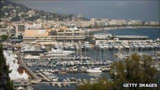 General view of Cannes