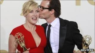 Kate Winslet and Guy Pearce, the stars of HBO's adaptation of James M Cain's Mildred Pierce
