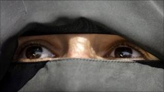 Generic image of woman wearing a niqab