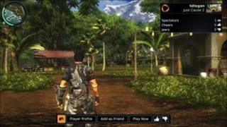 OnLive screen shot
