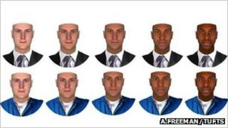 Faces (J.Freeman/Tufts)