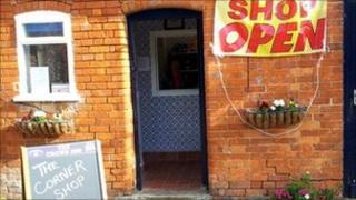 Corner Shop at the Crown