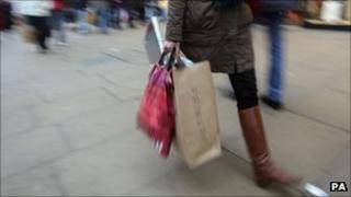 Shopper - Pic: Lewis Whyld/PA