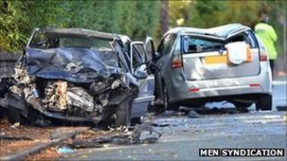 Crash in Crumpsall