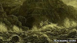 The Clarendon shipwreck