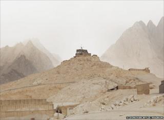 Observation Post. FOB Ma sum Ghar. Kandahar Province. Afghanistan