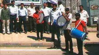 Bangalore's 'tax drummers'
