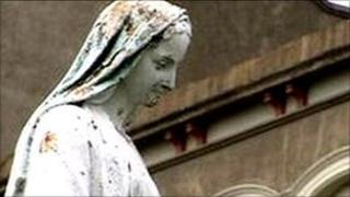 A religious statue