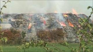 Ardsley farm fire