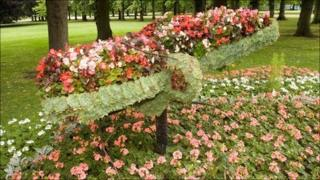 Floral display in Stockton Picture: Fife Council