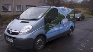Scottish Water van