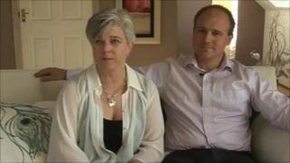 Jane Nicholls and Jonathan Ridd