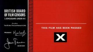 X certificate