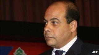 Former Egyptian information minister Anas al-Fekky - file photo from 21 November 2006