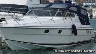Boat the Gusto Spirit seized by Guernsey Border Agency