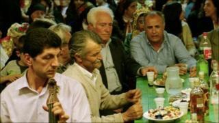 A party on the Greek island of Karpathos