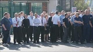 BAE Brough workers