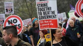 Anti-cuts march