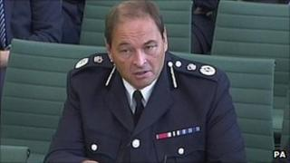 West Midlands Police Chief Constable Chris Sims