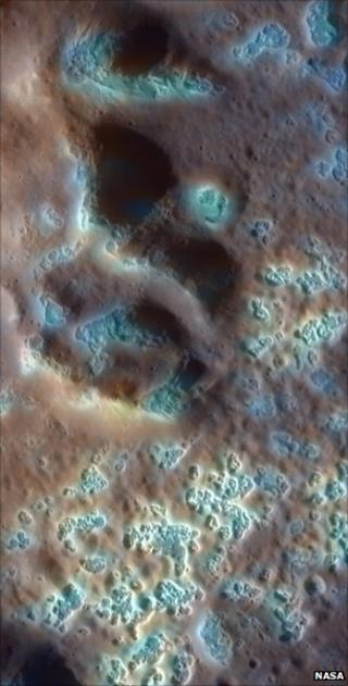 Mercury hollows