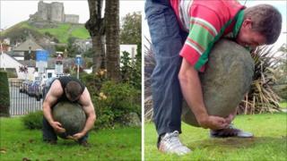 Dafydd (left) and Reuben Hughes