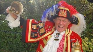 Chelmsford and Romford town crier Tony Appleton