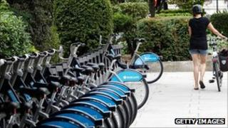 The mayor's bike hire scheme was launched in 2010
