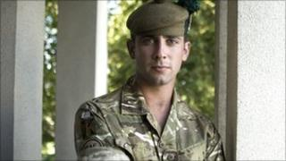 Private Bryan Johnson from Corby