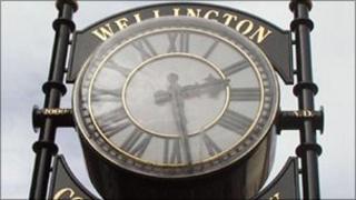 Wellington Community Clock