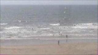 Rest Bay - BBC webcam