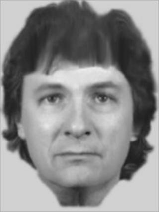 E-fit of man released by police