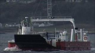 The Lough Foyle ferry