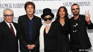 Martin Scorsese, Sir Paul McCartney, Yoko Ono, Olivia Harrison, Ringo Starr