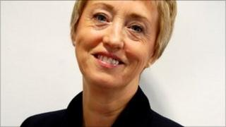 Pam Liversidge, first female Master Cutler, October 2011