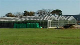 Vinery site in the Forest, Guernsey