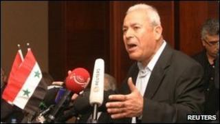 Chairman Burhan Ghalioun