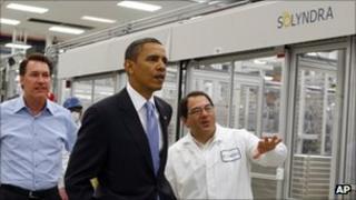 President Obama at Solyndra