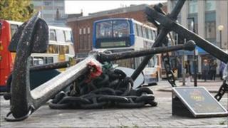 Hull' Merchant Navy memorial