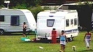 Travellers camp [generic]