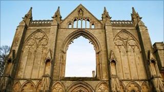 Newstead Abbey in Nottinghamshire