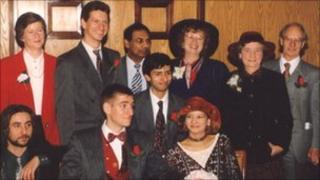 Barbara Mitra's wedding