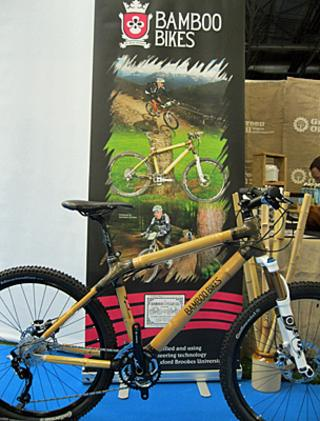 Bamboo mountain bike (Image: Raw Bikes)
