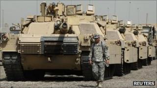 Camp Liberty in Baghdad, file pic