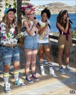 Rhythmix in the Judges House show